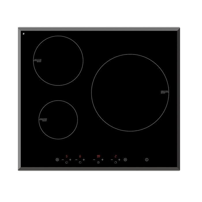 Induction 3 Zone 600mm
