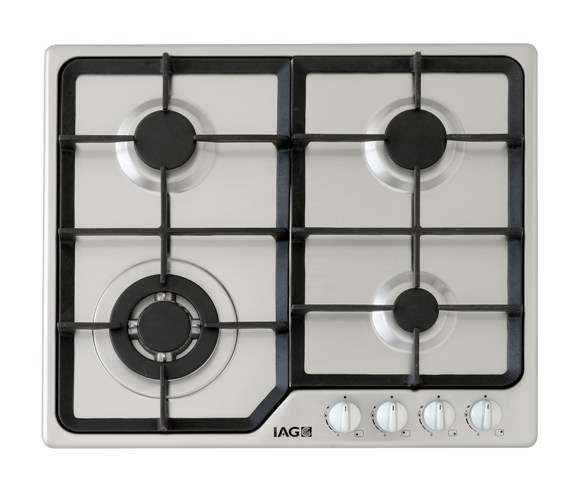 Gas Deluxe Cooktop with Wok 60cm