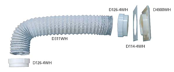Flexible ducting Kit IRD002