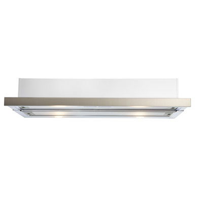 Slide Out white or stainless steel finish 900mm